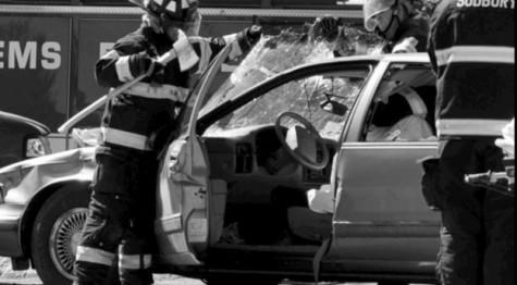 Mock Car Crash (Audio Slideshow)