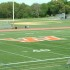 "Above is a picture of the Wayland High School turf. Wayland High School graduate Ben Porter writes in support of coach Scott Parseghian. ""It isn't an exaggeration to say Coach P bleeds orange and black,"" Porter said. (Credit: Matthew Gutschenritter / WSPN)"