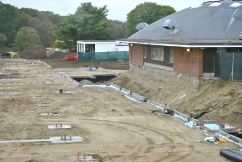 School community adapts to construction