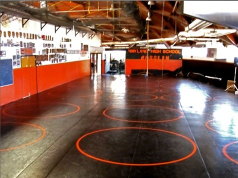 One team, one girl: Hayward joins wrestling