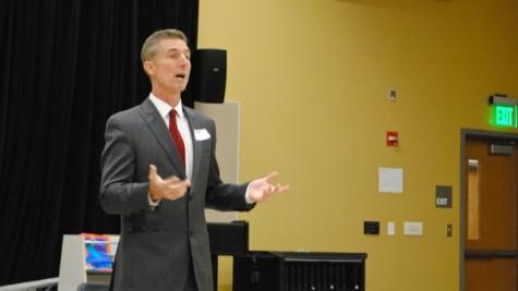 WW '13: Representative Conroy talks politics with students