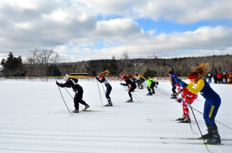 Wayland Nordic ski team competes in state race (32 photos)