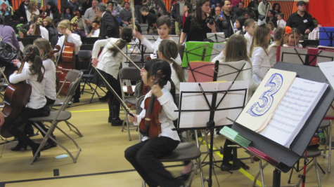Students perform in annual String Jamboree