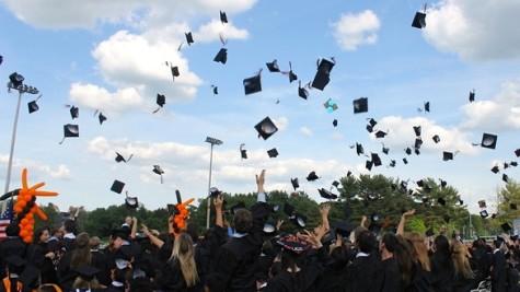The Class of 2014 graduates