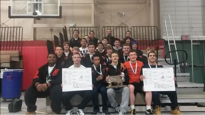 Above%2C+is+a+group+picture+of+the+Wayland+Wrestling+team+at+the+Division+3+Central+Sectional+Championships.+Wayland+Wrestling+has+had+a+very+successful+season%2C+winning+25+of+their+26+regular+season+matches.+%E2%80%9C%5BThey+are%5D+Fearless.+Absolutely+fearless.+I+mean+that.+Fearless+because+they+have+confidence+in+their+ability+has+a+team+and+as+a+group%2C%22+head+coach+Sean+Chase+said.