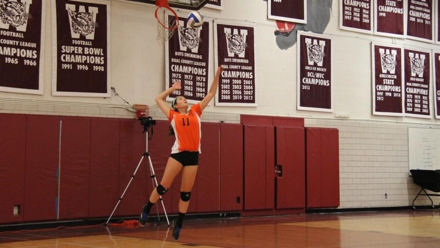 W-Day 2015: Girls Varsity Volleyball