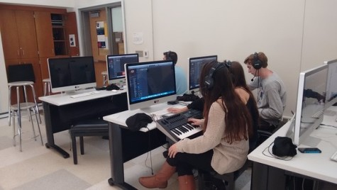 New music lab introduced to the high school