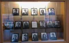 "Senior Calvin Laituri creates ""Faces of Wayland"" display"