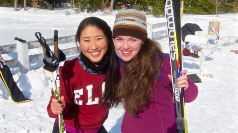 Mandy Judah loves to ski