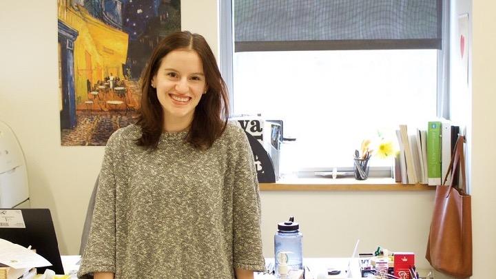 Wayland Student Press : Art teacher Amy Cuneo enjoying her first ...