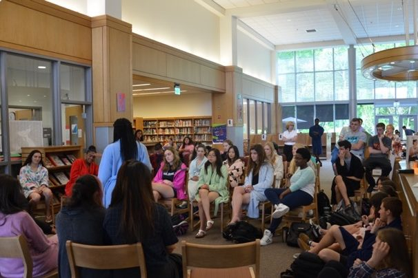 Senior William Paik leads discussion panel on discrimination at WHS