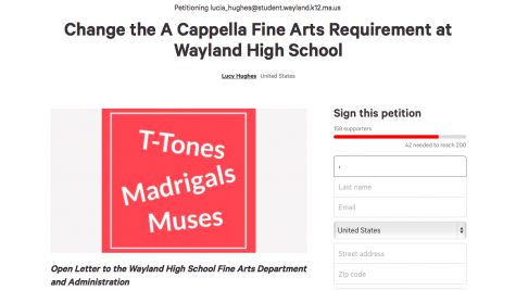 Muses member Lucy Hughes releases online petition