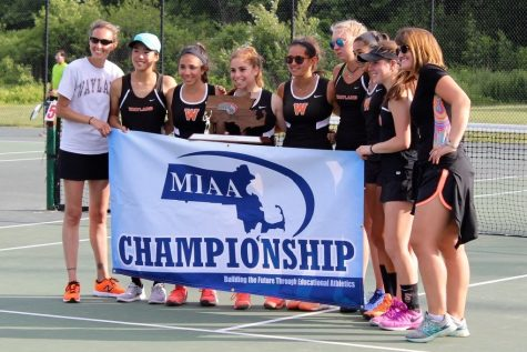 Girls' tennis falls to Foxboro in state finals (26 photos)