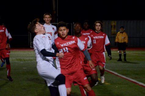 Boys' soccer defeats Waltham (34 photos)