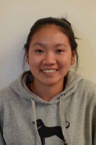 """Audrey Chen Sophomore """"I think that both candidates are bad choices because Hillary is sick and lies about it, and Trump says things that are just so unnecessary and rude. Trump uses his empire to get votes and speeches to get young people's approval. I think Hillary does it in a more effective way [on winning votes] because she supports funds that are actually necessary and she's like women's rights and everything, but Trump puts women down which is bad. I'd definitely vote for Hillary because she knows way more about women's rights and actual politics, and Trump is just a businessman."""""""