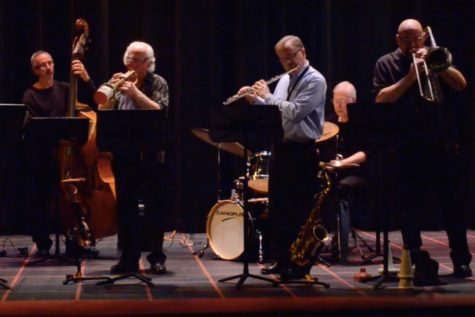 The Greg Hopkins Sextet plays at WHS