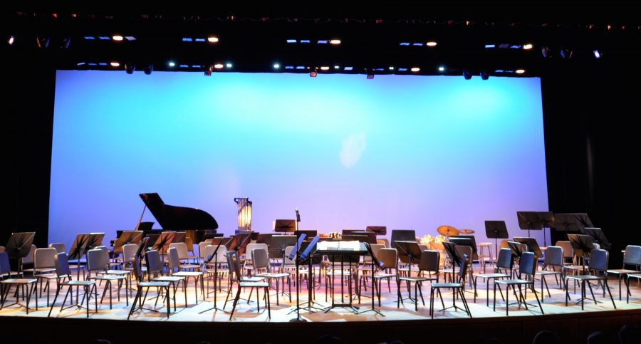 Students prepare for the MMEA All State