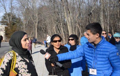 Wayland community members attend rally at Islamic Center of Boston (video)