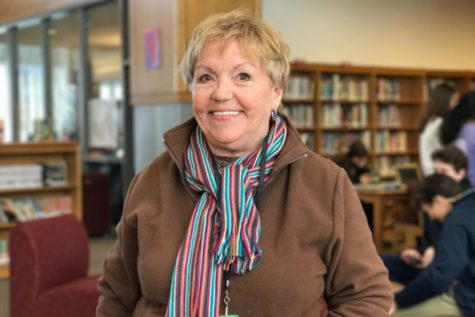 Librarian Pam Miller reflects on her support for WHS athletics