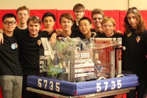 Robotics team competes at regional competition