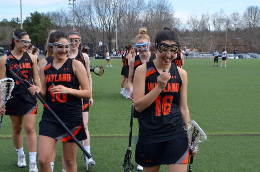 Girls' lacrosse defeats Weston (30 photos)