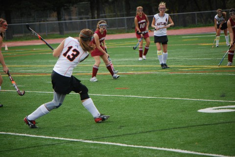 Field hockey fights for tournament spot