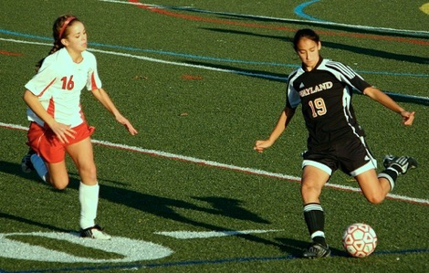 Girls soccer wraps up DCL-small title