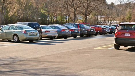 Construction to close student parking lots