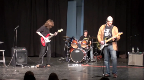 Winter Week: Alum's band performs in Little Theater
