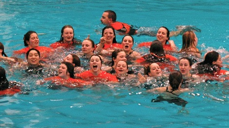 Warriors dominate in the pool at states and sectionals (20 Photos)