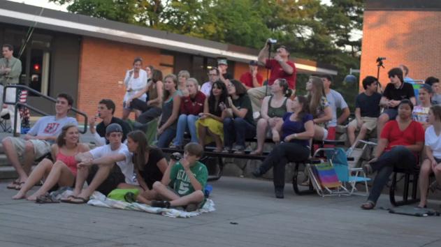 Spring Outdoor A Cappella Concert (Audio Slideshow)