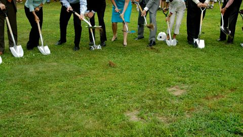 New high school project breaks ground