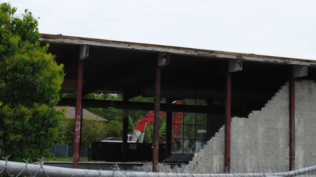 Town Pool project begins, sections of old building torn down (38 Photos)