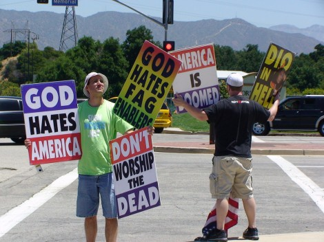 updated students plan fundraiser at westboro baptist