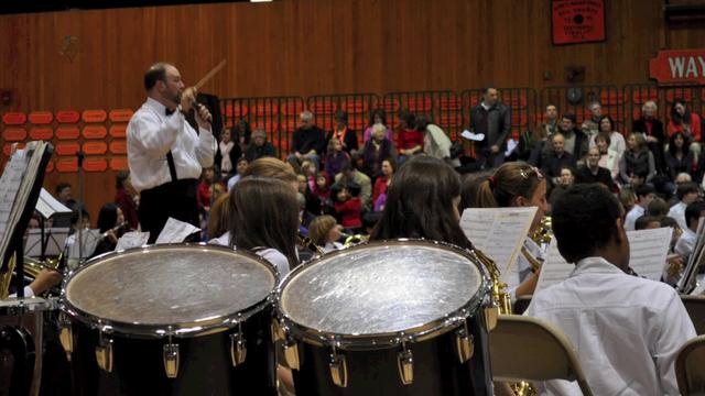 Students from across district join in annual Bandfest