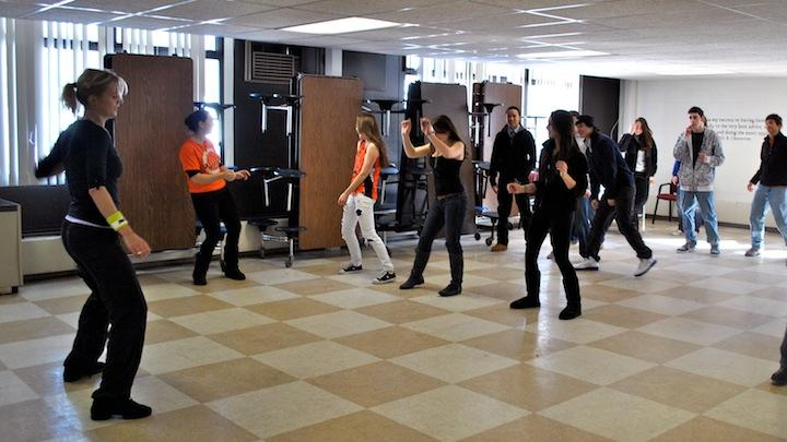 Winter Week: Zumba with Antje Schaefer (13 photos)