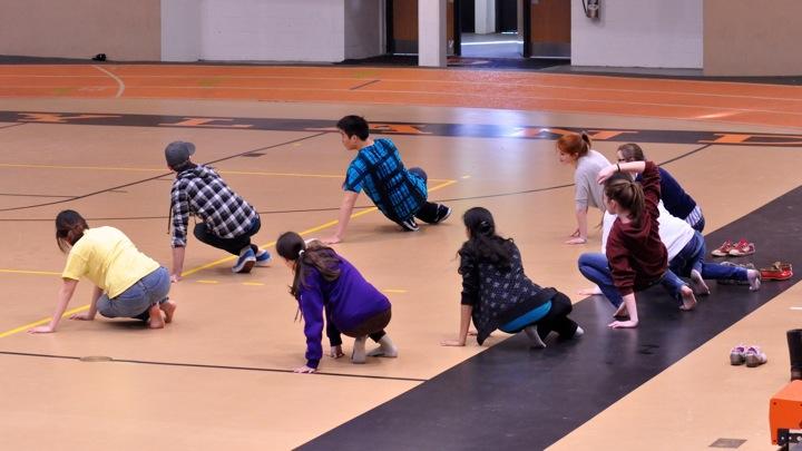 Winter Week: hip hop dance lessons (17 photos)