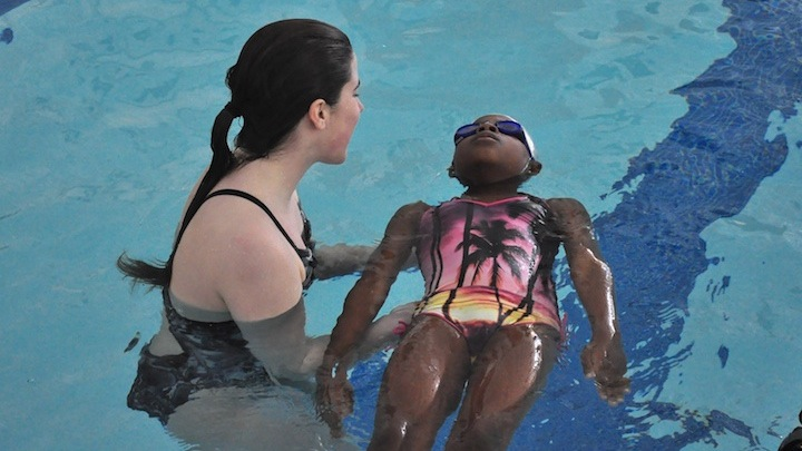 WHS swimmers teach strokes to K-8 METCO students (33 photos)