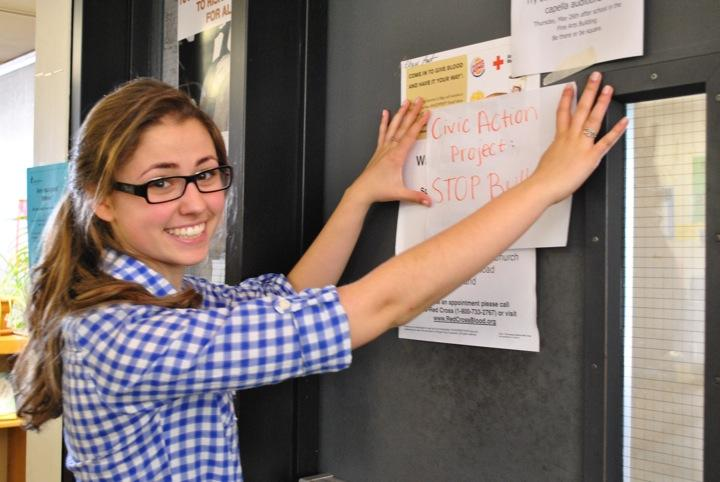 Civic action projects empower students