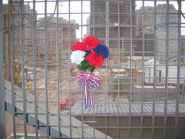 Wayland Middle School English teacher Stephanie Galvani's husband lost his fiancee in the 9/11 terrorist attacks. (Flickr user Victoria Pekham/CC)