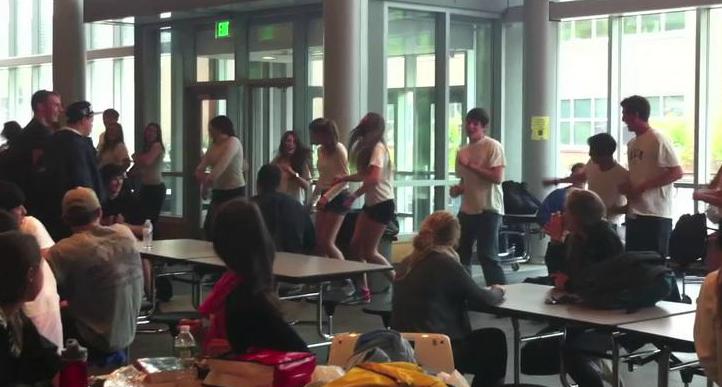Window Dance Ensemble flash mobs the Commons