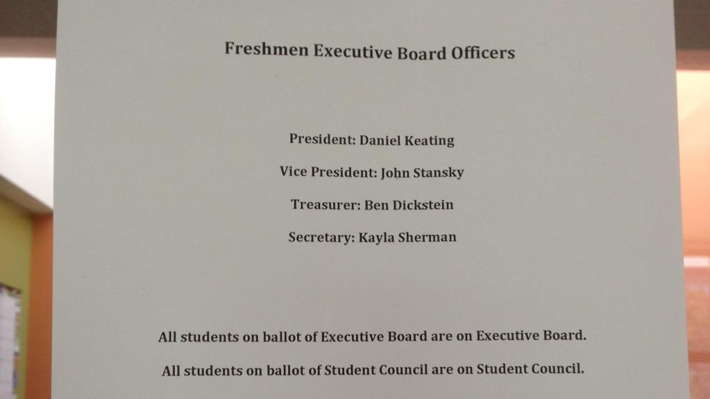 Daniel Keating Voted Freshman Class President Wayland Student Press