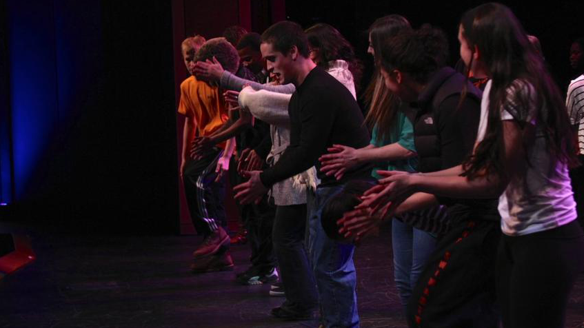 WW '13: Stomp Nation teaches how to step dance