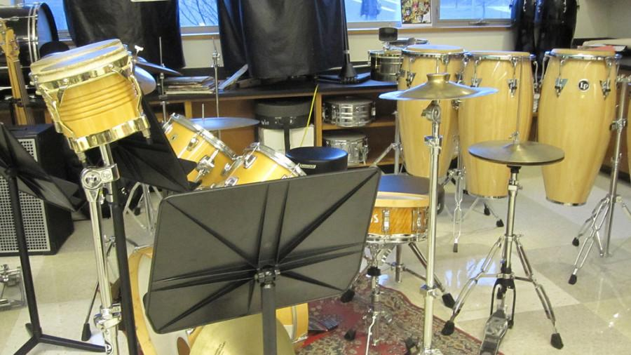 Pictured above is one of the music rooms at WHS. This year, sixteen WHS students were accepted into Senior Districts and will perform in the 2014 Eastern District Senior Festival on Jan. 10 and 11 at Boston Latin School. I would recommend other students to try out, sophomore Stephanie Hsu said.