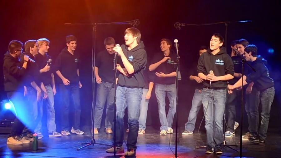 WW '14: A cappella groups perform