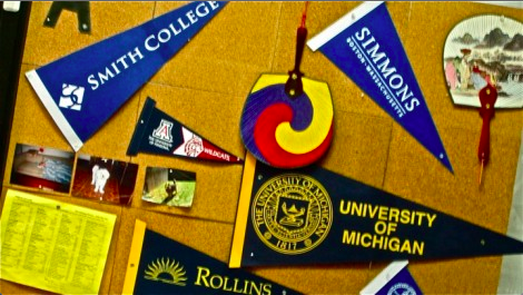 """Students and teachers weigh the potential impacts of college pressure. """"It's a constant topic of discussion,"""