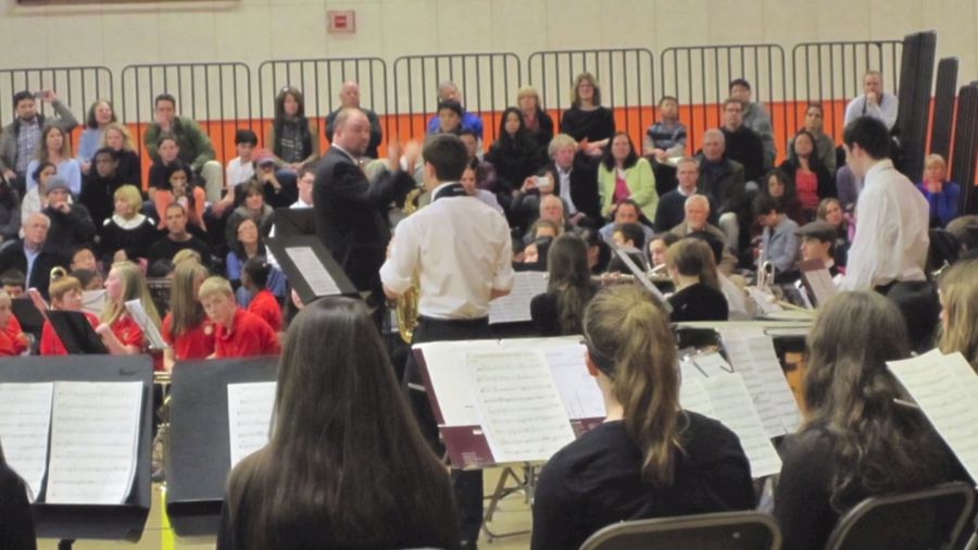 Students perform in annual Band Fest