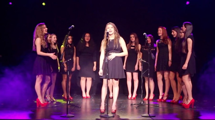 A+cappella+groups+perform+in+annual+concert