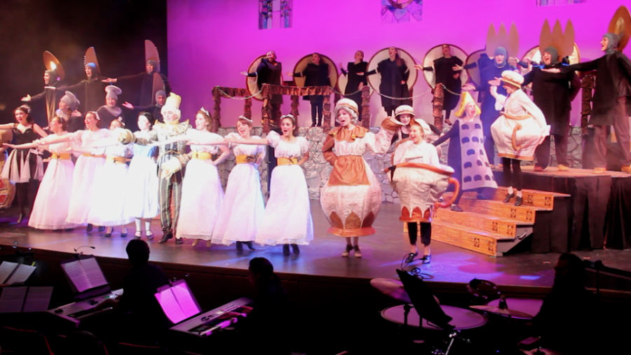 Pictured above is WHSTEs musical last year, Beauty and the Beast. This years musical is Footloose.