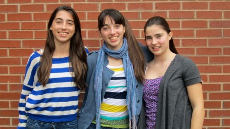"""Pictured above are the senior Conroy triplets: Maddie, Cashen and Emma. Conroy.  Students with sibling can compete among each other and affect what activities they do or colleges they apply to. """"I think competition is inevitable, especially with multiples: twins and triplets, just because you're born at the same time and do so many of the same activities,"""" Maddie said. """"When you spend so much time with someone else, it's hard to not become competitive."""""""